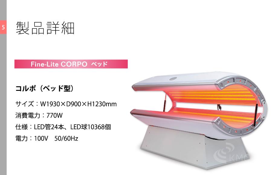 CORPO 製品詳細